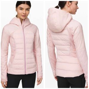 Lululemon Down For It All Jacket 12 NWT  Pink